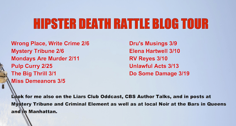 Blog Tour for Hipster Death Rattle